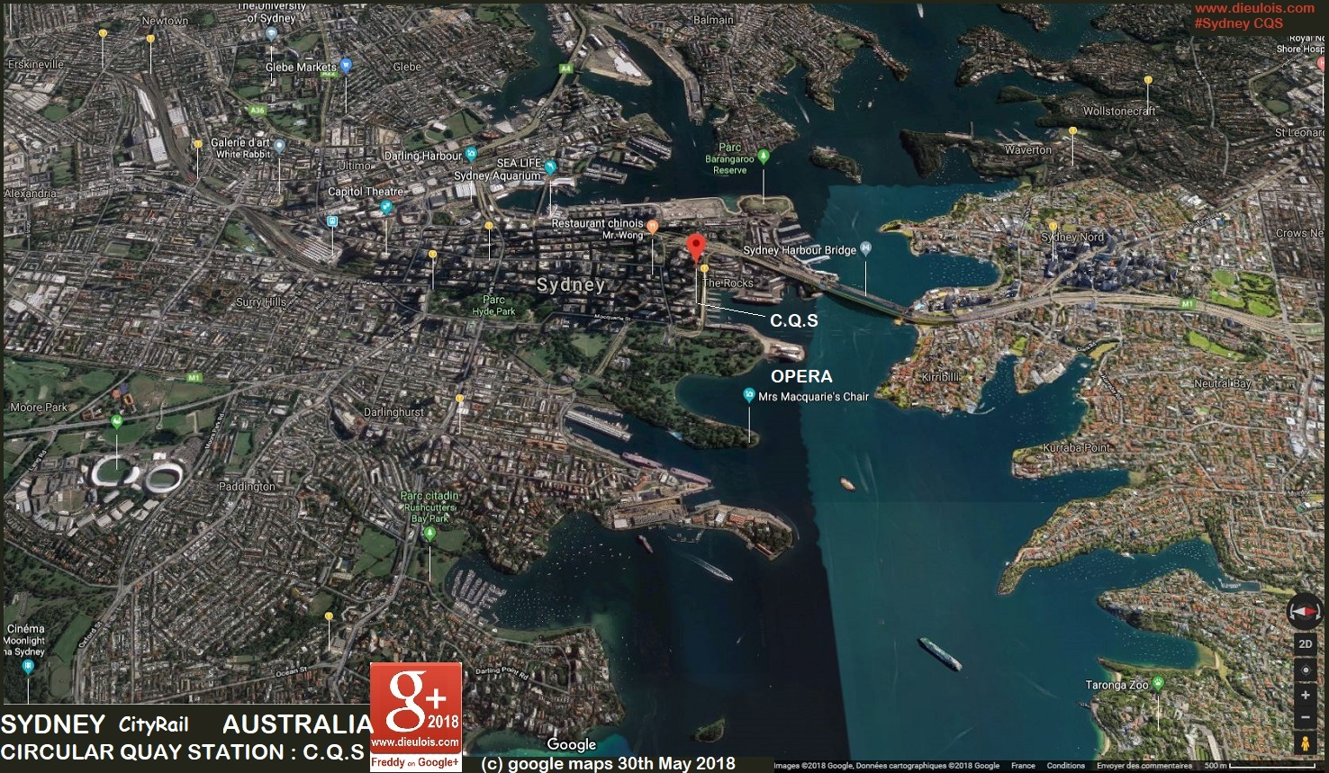 Sydney metro::PLAN & MAP & CARTE