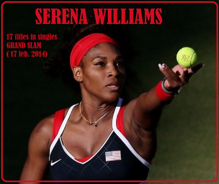 SERENA WILLIAMS by Frederic PETIT-DIEULOIS