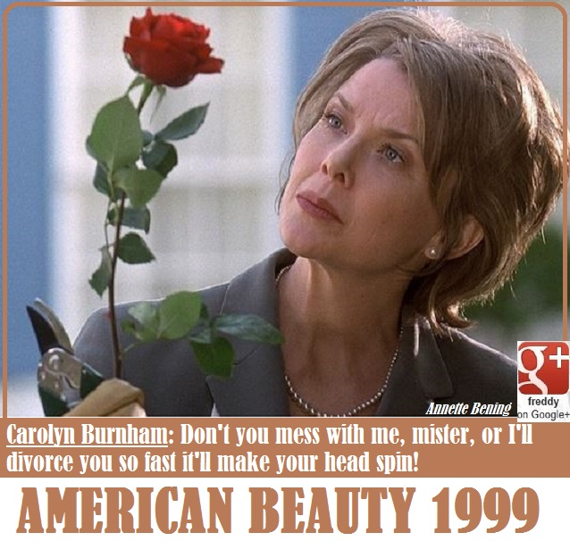 ANNETTE BENING- - AMERICAN BEAUTY by Frederic PETIT-DIEULOIS
