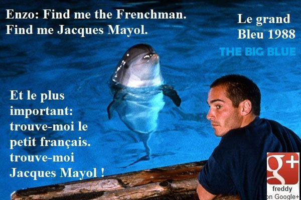 THE BIG BLUE - JACQUES MAYOL