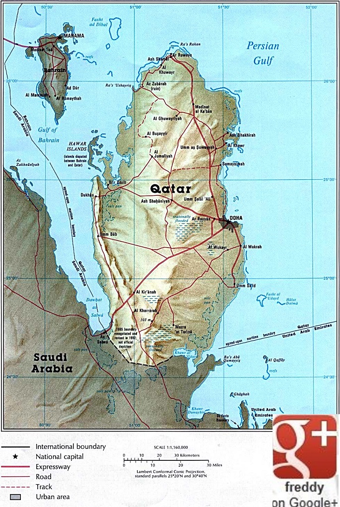 Doha Qatar::PLAN & MAP & COUNTRY