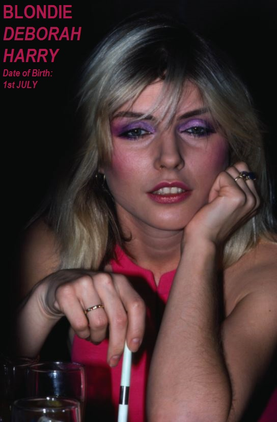DEBORAH HARRY-BLONDIE PETIT-DIEULOIS