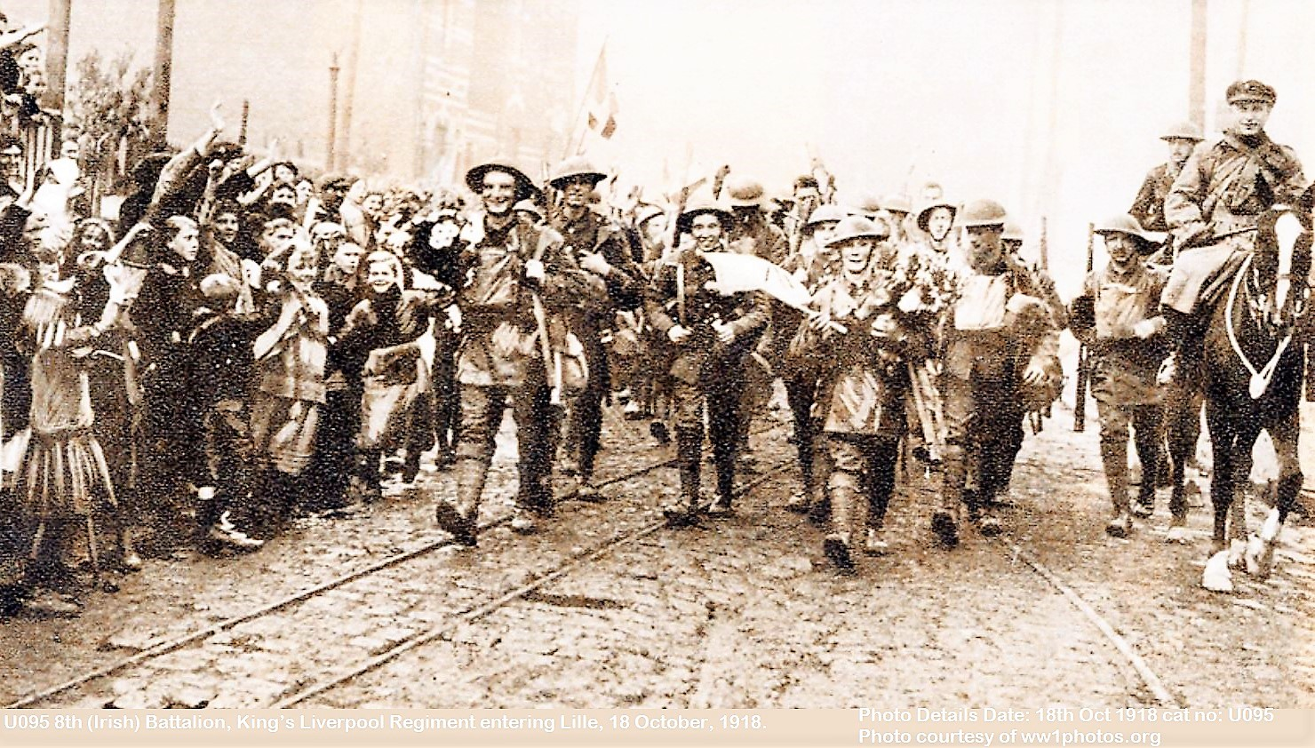LILLE LIBERATED WW1 1918 DIEULOIS DIEULOIS